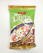 Sockrade och färgade kikärter (rostade), Besler, 250g
