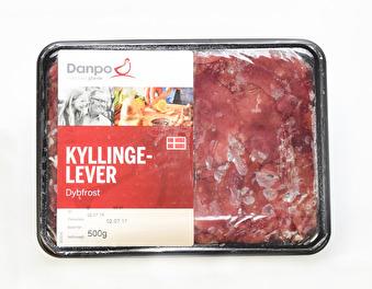 Kycklinglever, Danpo, 500g -