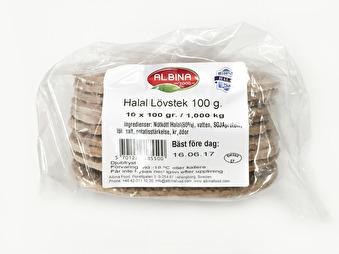 Lövstek, Albina Food, 10x100g -
