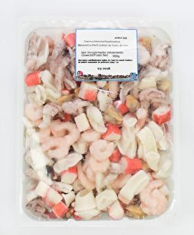 Seafood mix, 900g -