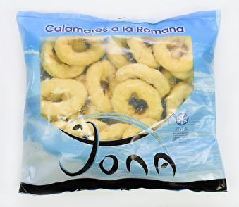 Panerade calamari ringar, Jona -
