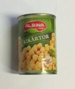 Kikärtor, Albina Food, 400g