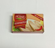 Tonfiskfilé (olja m. chili), Albina Food, 120g