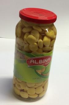 Lupinbönor, Albina Food, 540g -
