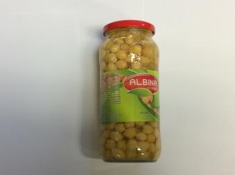 Kikärtor, Albina Food, 540g -