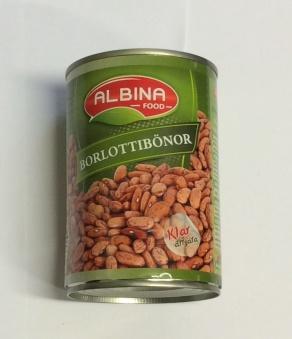 Borlottibönor, Albina Food, 400g -