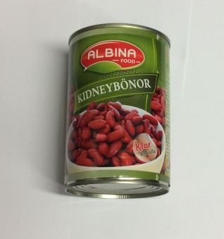 Kidneybönor, Albina Food, 400g -