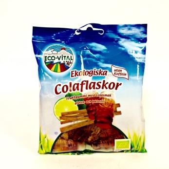 Godis/Colaflaskor