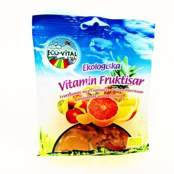 Godis/ Eco-Vital, VitaminFruktisar