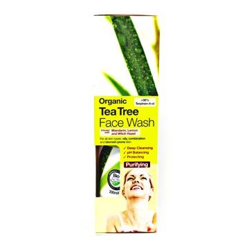 Hygien/ Ansiktstvätt Tea Tree, dr.Organic