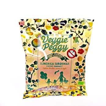 Veggie Peggy, Slingriga Surormar - Veggie Peggy