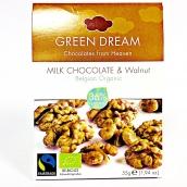 Choklad/ Green Dream, Ljus Valnöt