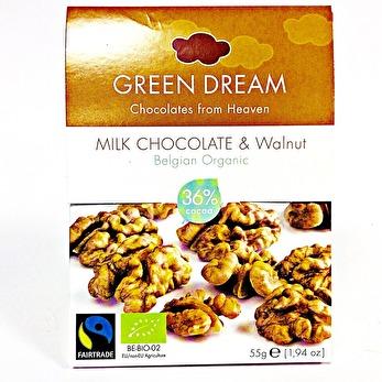 Choklad/ Green Dream, Ljus Valnöt - Green Dream