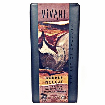 Vivani, Mörk Choklad Nougat