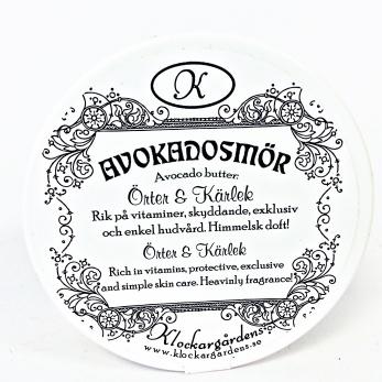 Hygien/ Hudkräm Avocadosmör Örter&Kärlek, Klockargårdens,