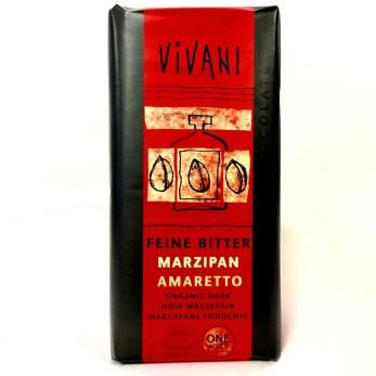 Choklad/ Vivani, MörkChoklad Marsipan&Amaretto