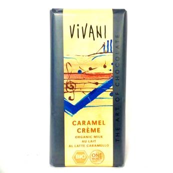 Choklad/ Vivani, LjusChoklad Karamellfyllning