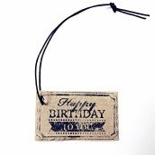 Present/ Tag, Happy Birthday to you