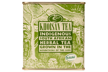 Khoisan Tea, Grönt Rooibos Plåtburk