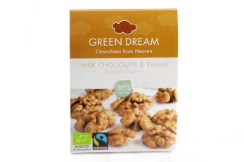 Green Dream, Ljus Choklad Valnöt