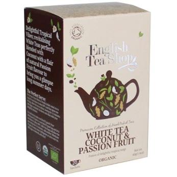 English Tea Shop, Vitt Te Kokosnöt/Passionsfrukt