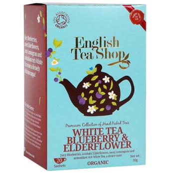 English Tea Shop, Vitt Te Blåbär/Fläder