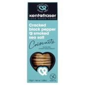 Kent&Fraser, Kex Svartpeppar/Rökt Salt