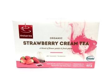 Khoisan Tea, Strawberry Cream