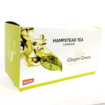 Hampstead Tea, Grönt Te Ingefära/Citrongräs