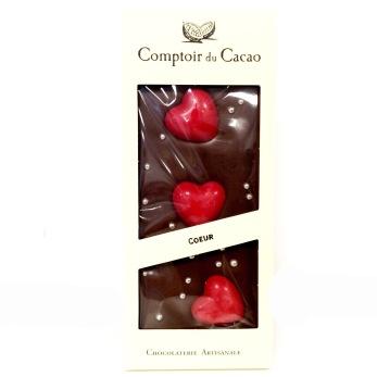 Comptoir du Cacao, Ljus choklad med Hjärtan