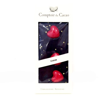 Comptoir du Cacao, Mörk Choklad med Hjärtan