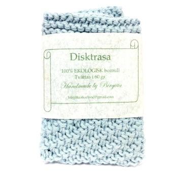 Disktrasa, Dubbelstickade - Disktrasa, Ljusblå