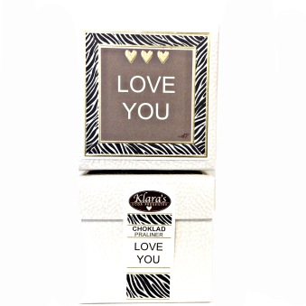 Klara`s Goda Presenter, Chokladpraliner Love You