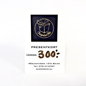 Presentkort - Presentkort 300:-