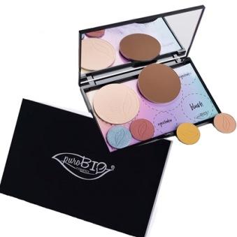PuroBio Cosmetics, Tom Palett med Spegel