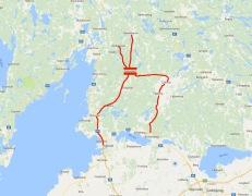Alla vägar bär till Godegård Koordinater WGS84 DD (LAT, LONG) 58.73993, 15.15925