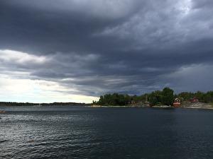 Utsikt från bryggan, Möja