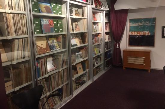 Jazzarkivet, Tomelilla bibliotek