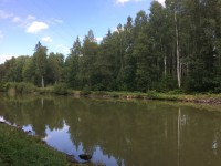 Vy över Göta Kanal