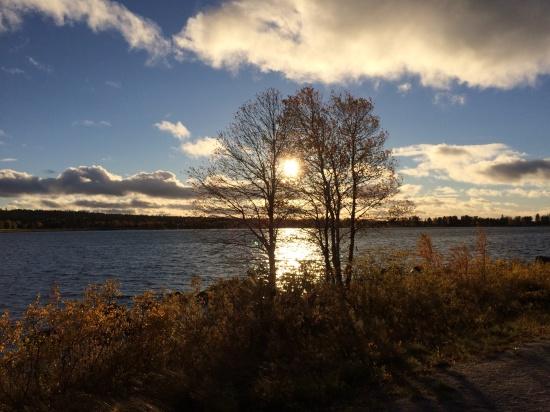 Hornavan, Sverige djupaste sjö där arjeplogborna får sitt dricksvatten. Sammanlagt har kommunen 8727 sjöar vilket gör den till den sjötätaste kommunen i hela landet