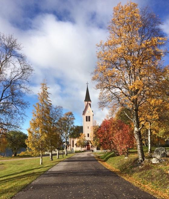 Arjeplogs kyrka, byggd 1641