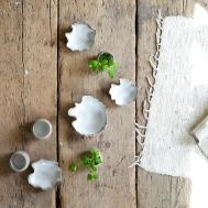 flingsaltskålar och vaser i serien Askja