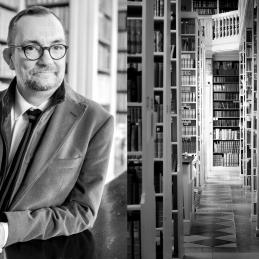 Lars Burman, överbibliotekarie Uppsala universitet