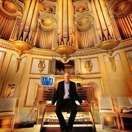Mattias Wager, organist i Storkyrkan, Stockholm