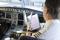 SAS cockpit
