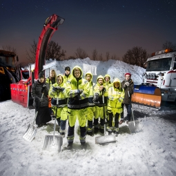 Uppsala Kommun snöröjning