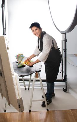 Matkreatören Laleh Maghonaki