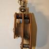 Dubbelblock med svirvel - Dubbelblock m svirvel 16 mm, 63 mm (hjul)