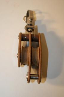 Dubbelblock med svirvel - Dubbelblock m svirvel 10 mm, 30 mm (hjul)