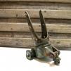 Bomfäste med patina - Bomfäste